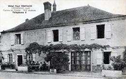 C595 Cpa 46 Cressensac - Hôtel Paul Ventach - France