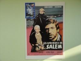 CARTE MAXIMUM MAXIMUM CARD SIMONE SIGNORET DANS LES SORCIERES DE SALEM FRANCE - Cinema