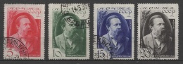 (O) Russia - USSR (1935) Yv. 565/68 - Oblitérés