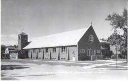 Brookings South Dakota, St. Thomas Catholic Church Architecture, C1950s Vintage Real Photo Postcard - Brookings