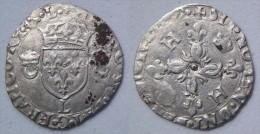 Aquitaine Pyrénées Atlantiques Bayonne Douzain Aux Croissants 1559 Au Nom D´Henri II - 1547-1559 Hendrik II Van Frankrijk