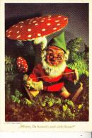ZWERGE / Gnome / Dwarfs / Nains / Nani / Dwergen / Enanos - STEIFF Pucki-Lucki-Gucki - Ansichtskarten