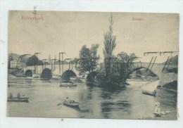 Echternach (Luxembourg) : Activité Nautique Près Du Pont En 1910 (animé) PF - Echternach