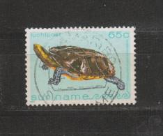 Yvert Poste Aérienne 91 Oblitéré Tortue - Surinam
