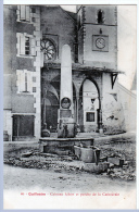 Guillestre (Hautes-Alpes) Colonne Albert, Devant La Cathédrale. - Guillestre