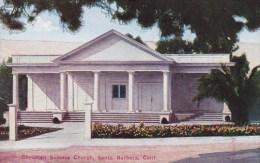 Christian Science Church Santa Barbara California
