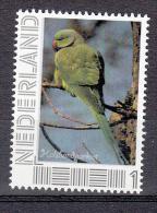 Nederland 2014 Vogel, Bird : Halsbandparkiet, Ring-necked Parakeet - Ungebraucht