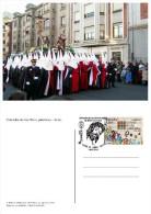Spain 2014 - Special Postmark Postcard - Cofradía De Las Siete Palabras.León - Marcofilia - EMA ( Maquina De Huellas A Franquear)