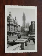Antwerpen Kathedraal In De Steigers En Tram Op De Kaai A/d Suikerrui ( 13 X 9 Cm. / Zie Foto Voor Details ) ! - Places
