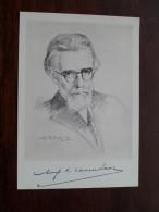 AUGUST VAN CAUWELAERT O.L.V. Lombeek 1885 - 1945 ( Zie Foto Voor Details ) !! - Ecrivains