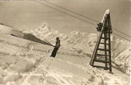 Ski-Lift Grabs - Hochegg 1900m, Voralberg - Autriche