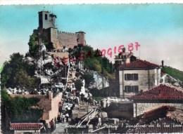 SAINT MARIN - REPUBBLICA DI SAN MARINO- PANORAMA CON LE TRE TORRI - Saint-Marin