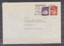 Lettre Distribué Dans 1981 Route Allemagne - Romania (Bucuresti) - BRD