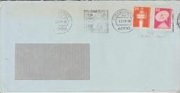Lettre Distribué Dans 1977 Route Allemagne - Romania (Bucuresti) - BRD