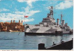 SHIPPING - HMS BELFAST IN POOL OF \LONDON - Warships