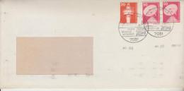 Lettre Distribué Dans 1979 Route Allemagne - Romania (Bucuresti) - BRD