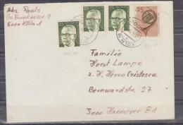 Lettre Distribué Dans 1978 Route Allemagne - Romania (Bucuresti) - BRD