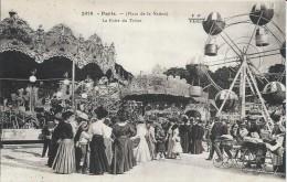 CPA De PARIS 12 - Place De La Nation - Fête Foraine - Manège - Foire Du Trône - - District 12