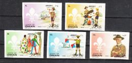 Oman    -   1971.   Scoutismo Maschile. Complete Set Imperf. Fresh MNH - Scoutismo