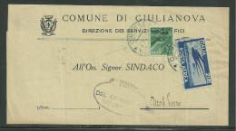DA GIULIANOVA A ASCOLI PICENO - 8.8.1947 - 6. 1946-.. Repubblica