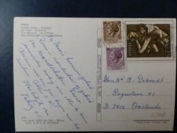 45/108   CP   ITALIE POUR LA BELG. - 6. 1946-.. Republic