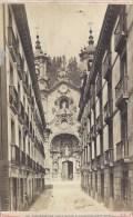 PHOTO ALBUMINEE AVANT 1900 - FORMAT 11 X 16 Sur Carton - SPANIA - ESPAGNE -SAN SEBASTIEN - Eglise Santa Maria - Ste Mari - Photos