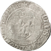 Charles VIII, Blanc à La Couronne, Châlons-sur-Marne, Duplessy 587 - 987-1789 Monnaies Royales