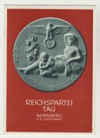 Deutsches Reich Ganzsache P 282 ungebraucht / Festpostkarte Reichsparteitag N�rnberg 1939