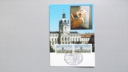 Berlin ATM 1987 Maximumkarte MK/MC, ESST Berlin, Automatenmarken Schloß 0,05 Und 0,15 - [5] Berlin