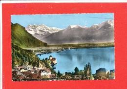 MONTREUX Cpsm Chateau De Chillon     8114 Edit Mont Blanc - Suisse