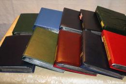 (525) Maxi -Kiste mit 10 teuren FDC Alben und ~900-1000 FDC Schweiz/Liechtenstein /UNO Genf etc.