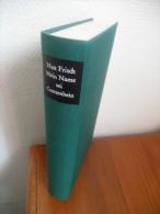Mein Name Sei Gantenbein (Max Frisch) De 1967 - Livres, BD, Revues