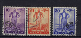 Schweiz Michel No. 294 - 296 gestempelt used
