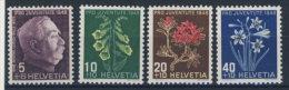 Schweiz Michel No. 514 - 517 ** postfrisch