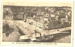 """Carte Postale Ancienne Belle-ile-en-Mer"""" (56) Le Palais Vue Générale - Belle Ile En Mer"""