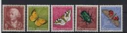 Schweiz Michel No. 648 - 652 ** postfrisch