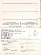 11.WWII GERMANY 1944 POW Camp STALAG VII A Prisoner #113905 PC - Briefe U. Dokumente