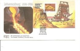 Industrie -Or ( FDC D'Afrique Du Sud De 1986 à Voir) - Usines & Industries