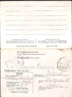 19.WWII GERMANY 1943 POW Camp STALAG XI A Prisoner #116649 Post Card - Alemania