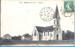 --  28 -- ORGERES -- L'EGLISE -- 1925 - Other Municipalities