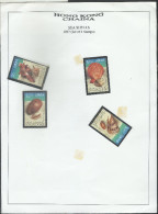 Hong Kong China 1997 Sea Shells Set Of 4 Stamps  MNH Mint - 1997-... Région Administrative Chinoise