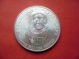 Belle Pièce De 100 Francs Argent 1996   CLOVIS  Belle Qualité. - N. 100 Francos
