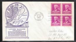 USA 1940, FDC, Luther Burbank, Opuntia sp.  / USA 1940, FDC, Luther Burbank, Opuntia sp.