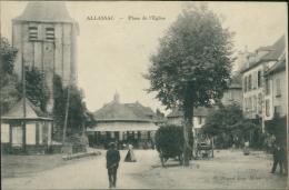 19 ALLASSAC / Place De L'église / - Andere Gemeenten