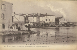 13 MARTIGUES / Le Coin Des Peintres Et La Pointe De Brescon / - Martigues