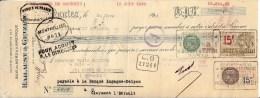 BON DE RETRAIT 1930 BOIS DU NORD D AMERIQUE HAILAUST ET GUTZEIT A NANTES - Banque & Assurance
