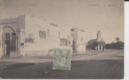 CPA BIZERTE LE MARCHE AFFICHES 1907 - Tunisia