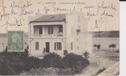 CPA BIZERTE TUNISIE INFIRMERIE DE LA MARINE 1908 - Tunisia