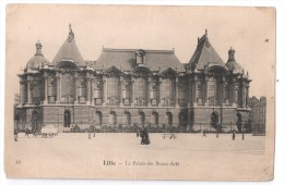 CP, 59, LILLE, Le Palais Des Beaux-Arts, Voyagé En 1904 - Lille