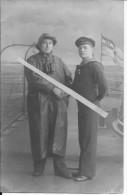 Marins Allemands Du Sms Kaiserine 1carte Photo 1914-1918 14-18 Ww1 WwI Wk - Oorlog, Militair